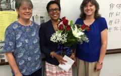 Mrs. Winston celebrates her American citizenship!