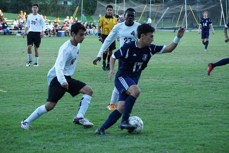 Buttons dominate rival Antonian 5-1