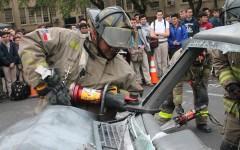 SAFD sponsors auto safety demonstration