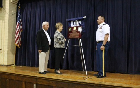 2LT John David Sarabia Inducted Into JROTC Hall of Fame