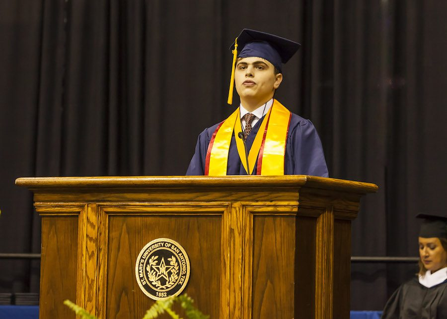 Graduates of Class of 2016 celebrate at Greehey Arena