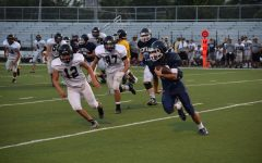 Buttons Declaw Bears in First Season Scrimmage