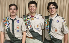 Buttons attain esteemed rank of Eagle Scout