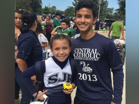 Central Senior Makes Day Memorable For Cheerleader