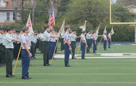JROTC Brigade Review honors Veterans Day