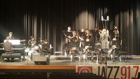 Button Jazz Band Ensemble scores Festival solo honors