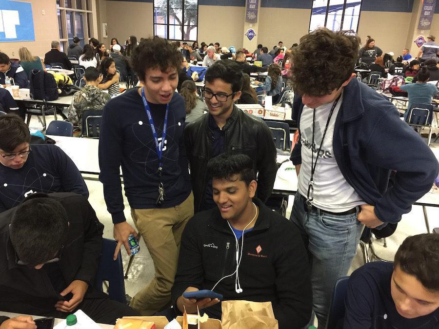 Academic Team reps at Somerset High School competition