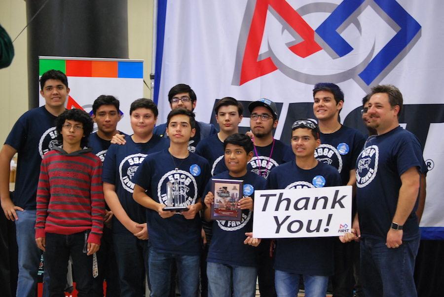 Robotics battles to finals at FIRST Alamo Regional meet