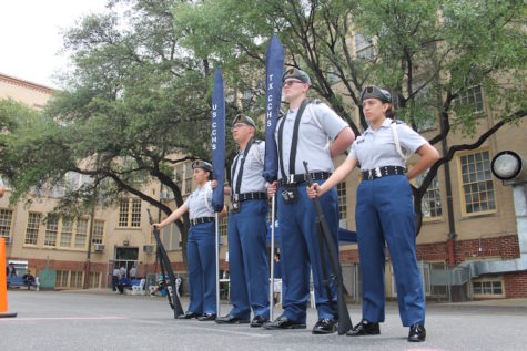 Bordelon Rifles Compete in 2016 JROTC Championships