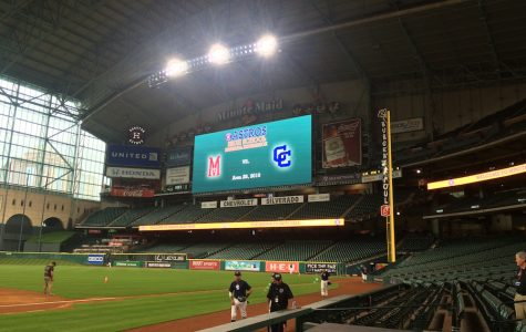 Varsity Button Baseball Wins Big in Minute Maid Stadium