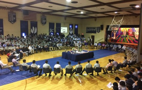 Living Rosary is alive at Central Catholic