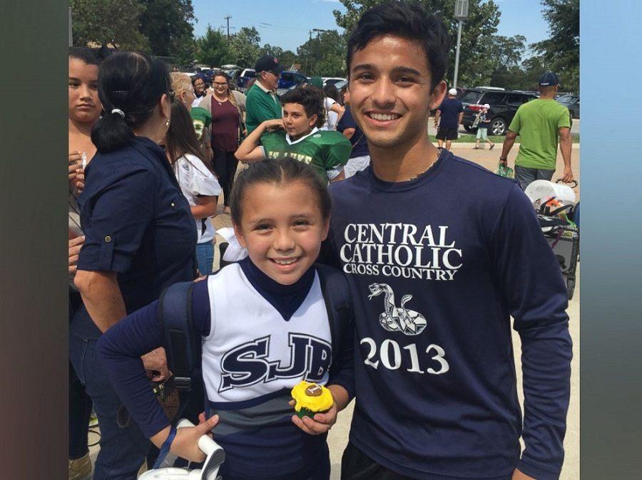 Central Senior Makes Day Memorable For Cheerleader