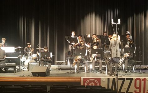 Button Jazz Band Ensemble scores Festival solo honors