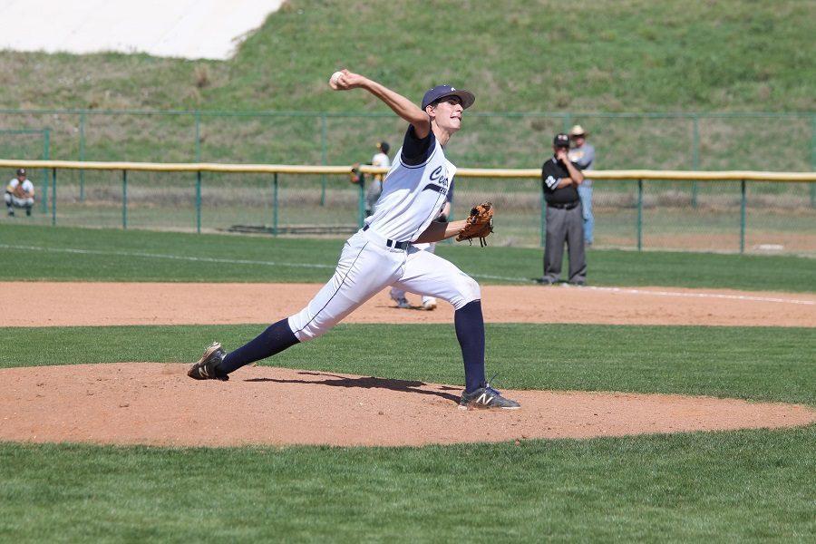 Varsity Baseball dominates season opener 8-0