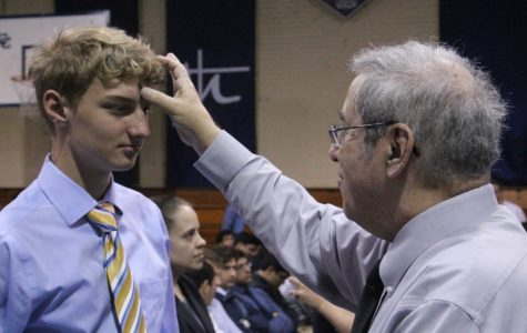 CCHS Community observes Ash Wednesday in service