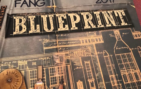 "2017 Yearbook ""Blueprint"" wins Gallery of Excellence Award!"