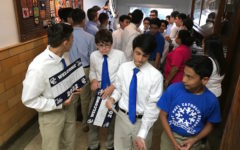 Annual Eighth Grade visits showcase the Central element