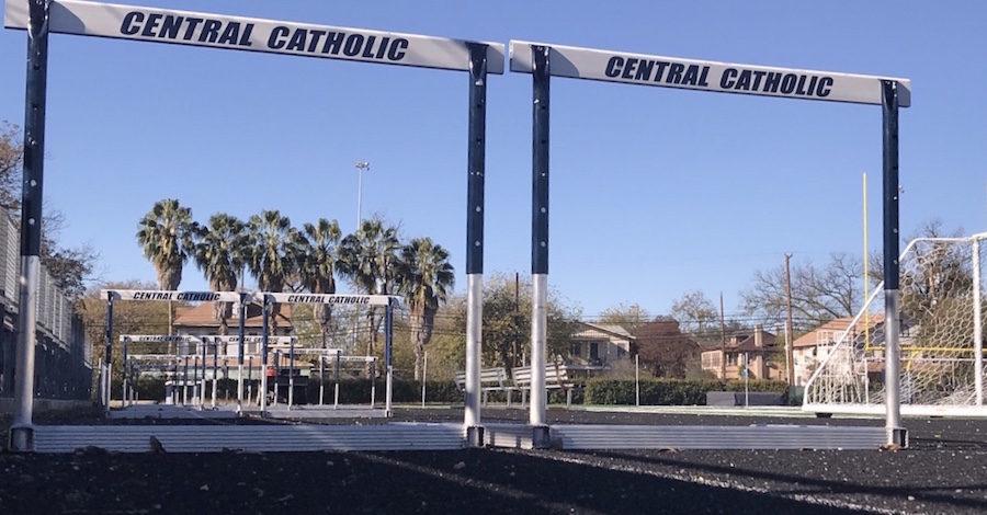 Central Track reps at Northside, SACS