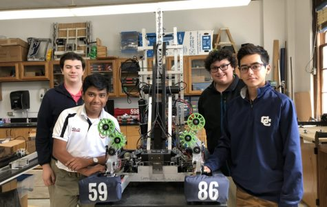Central Robotics team earns spot at World in Houston