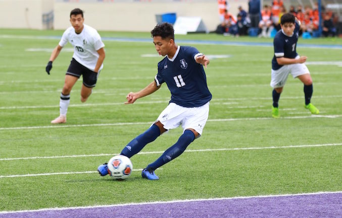 Central Soccer earns third straight state title