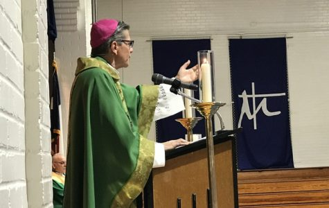 Archbishop shares message of faith in Jesus Christ at Catholic Schools Week Mass