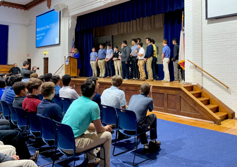 Underclassmen recognized with annual awards