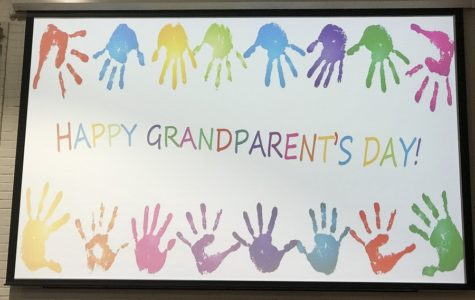 Special Sunday service celebrates grandparents