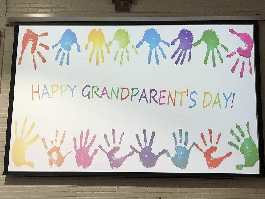 Special Sunday service celebrates grandparents