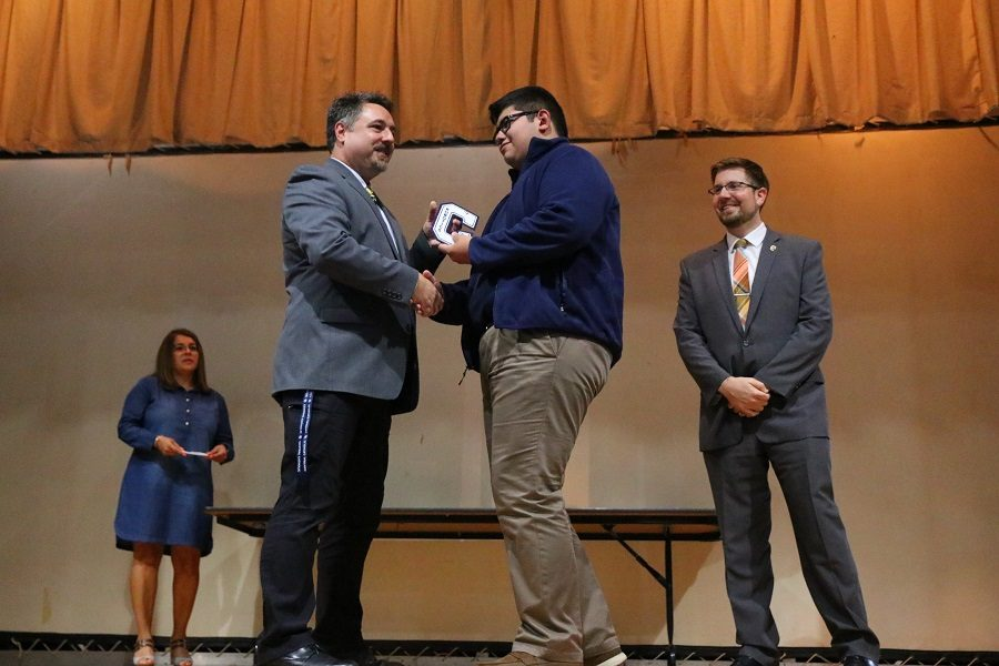 Awards assembly honors student academicians