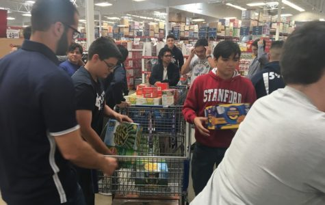 Students and alumns contribute to Can Drive