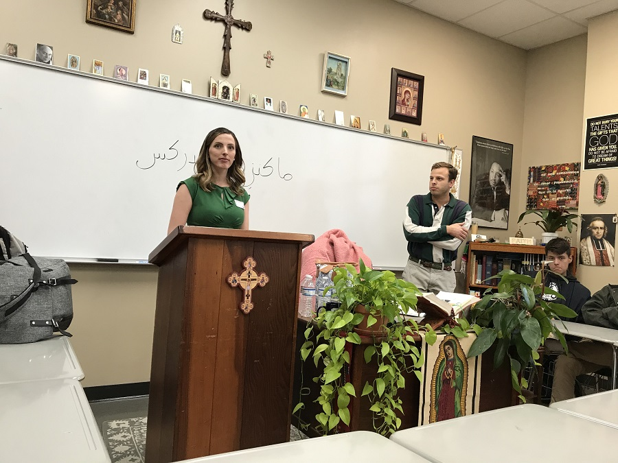 Religion classes experience interfaith dialogue