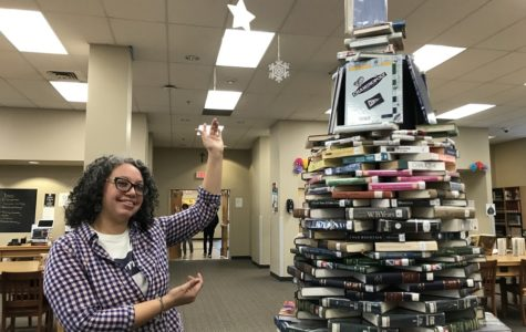 Library boasts birth of annual Book Tree