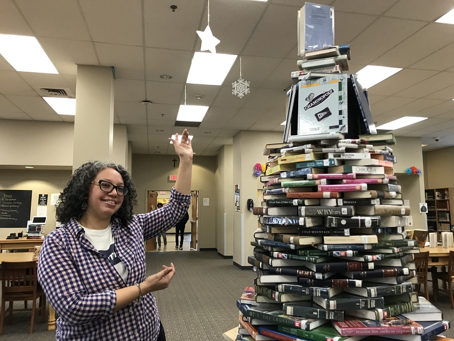 Library boasts birth of annual Book Tree