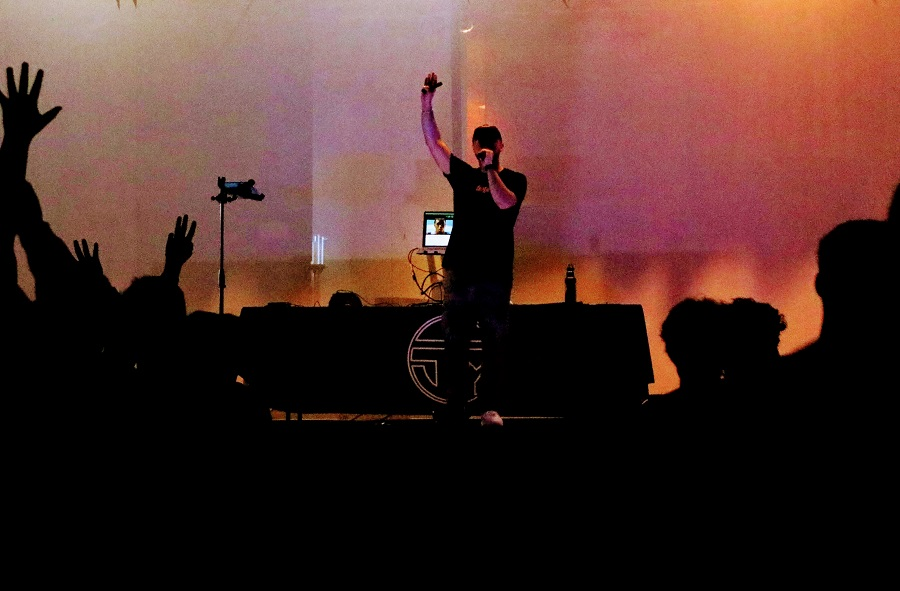 """Chosen"" concert rocks blend of rap and religion"