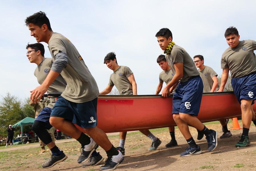 Raiders rep JROTC at NEISD Raider Challenge