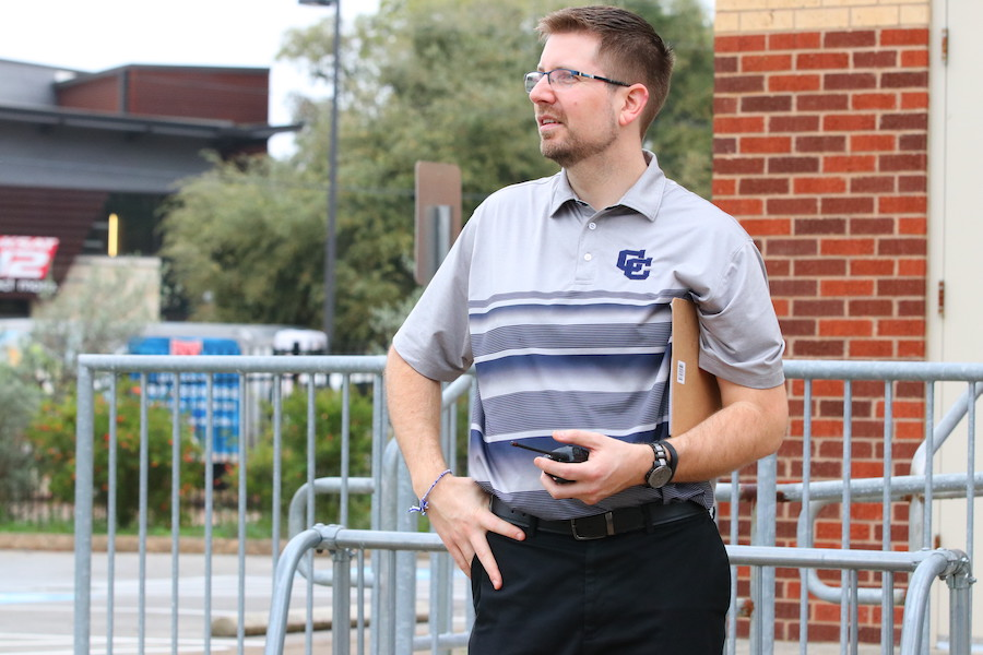 Former principal finds way back home