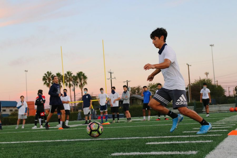 Central JV Soccer seeks success this season