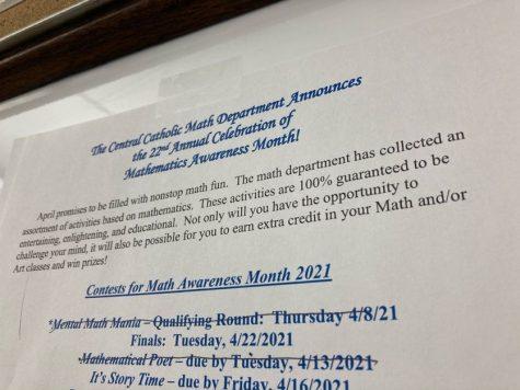 Math Awareness April mania underway