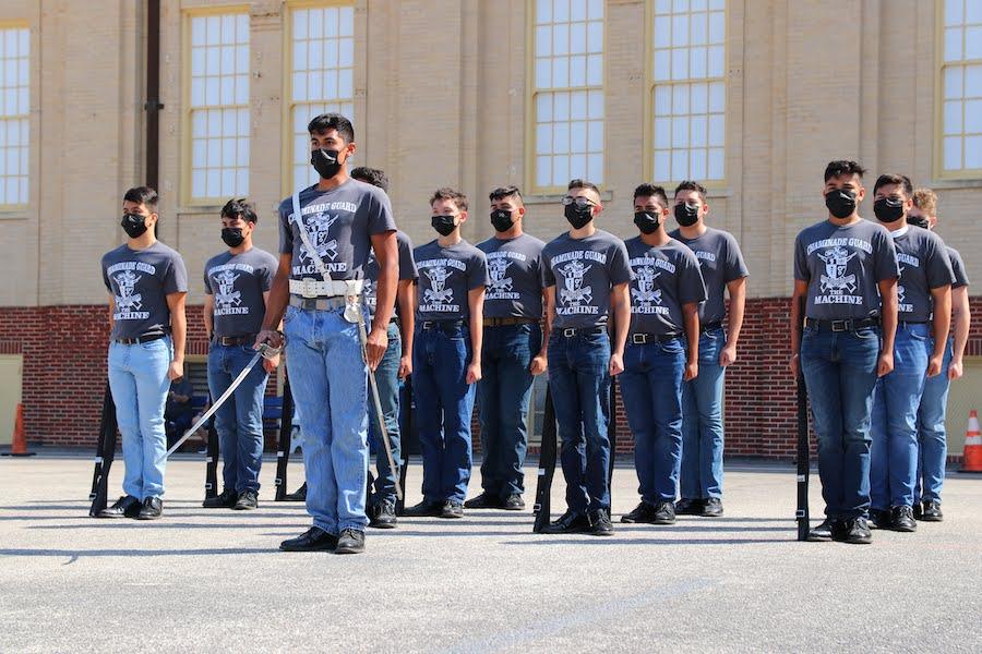 Guard Drill team