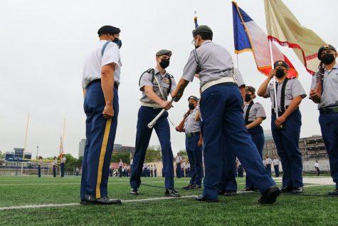 JROTC honors cadet Change of Command